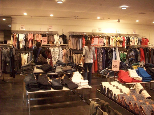Boutique relooking