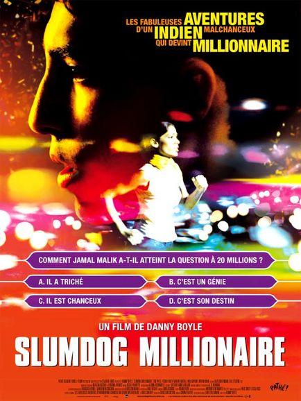 affiche slumdog Millionnaire