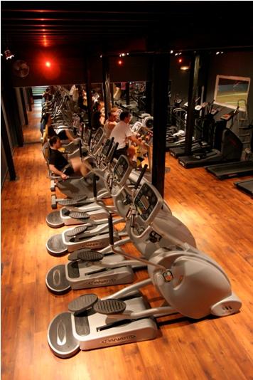 24h fitness machines