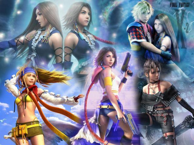 Rikku, Paine, Yuna, dans FF X-2