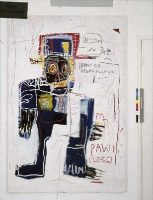 Basquiat Irony of Negro Policeman
