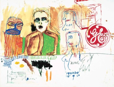 Basquiat alba's breakfast