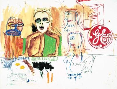 Basquiat alba's breakfast