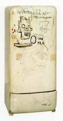 Basquiat fridge