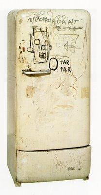 Basquiat fridge