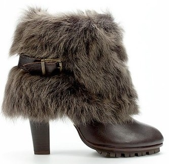 Boots fourrées Zara