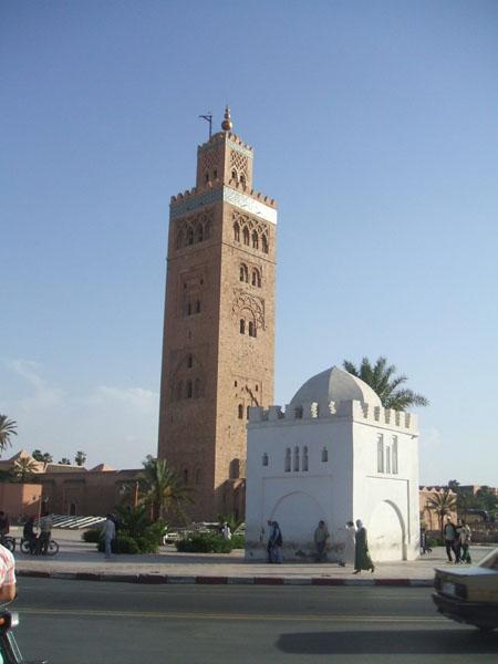 Minaret Mosquée Marrakech