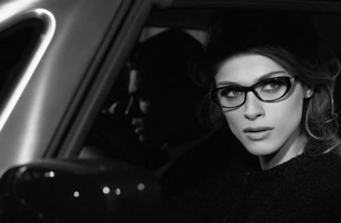 Elisa Sednaoui pour Chanel eyewear