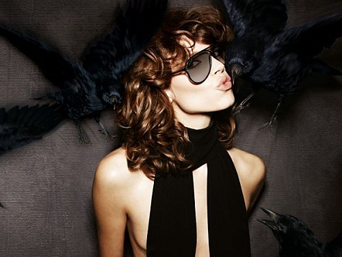 Freja Beha pour Tom Ford Eyewear