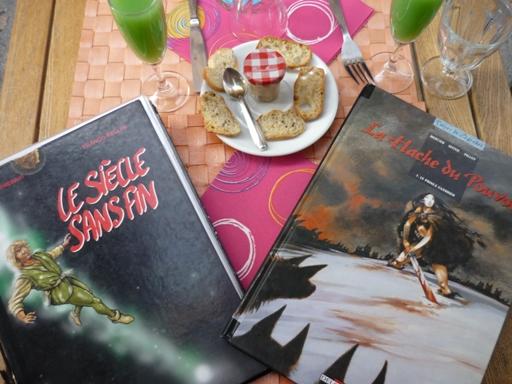 Les menus du Vol-Terre