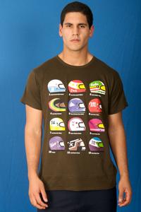 T-shirt Topacio-Casco-Caballero