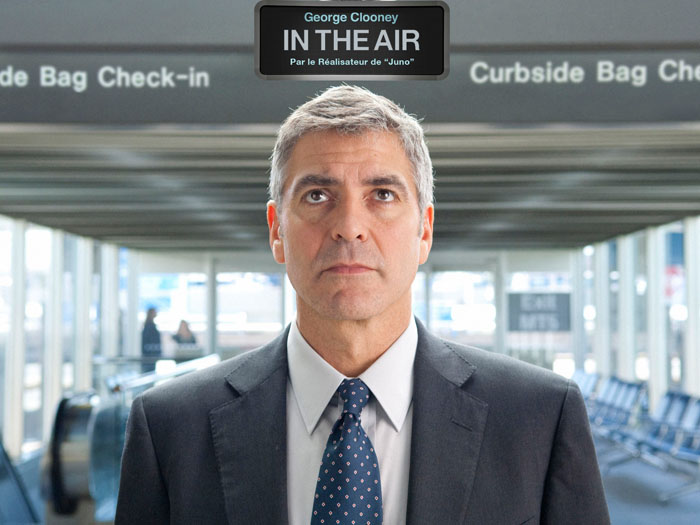 in the air georges clooney