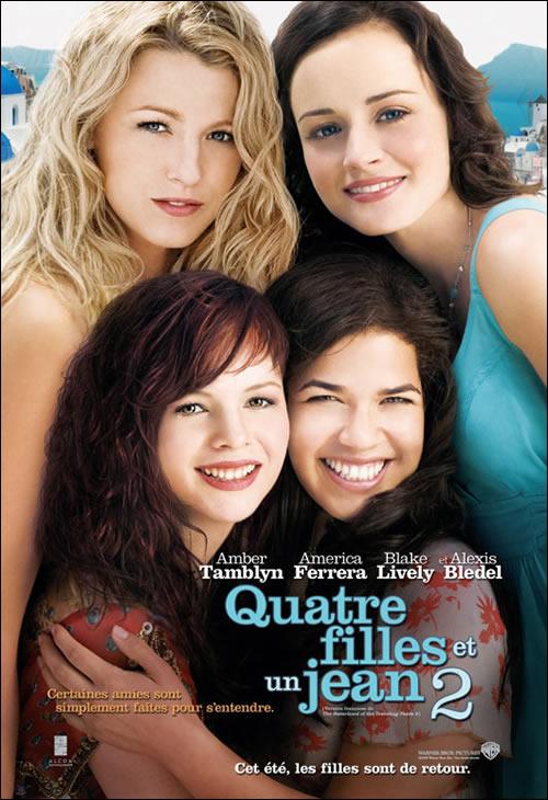 affiche-francaise-Quatre-filles-et-un-jean