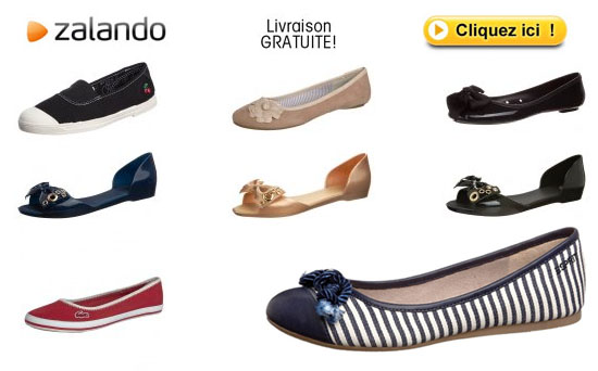 ballerines chaussures femme Zalando