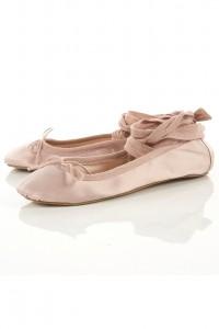 Les ballet pumps de Topshop
