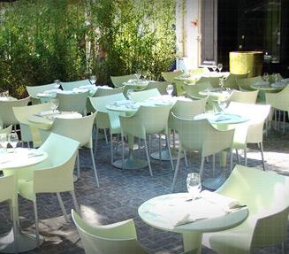 restaurant num terrasse