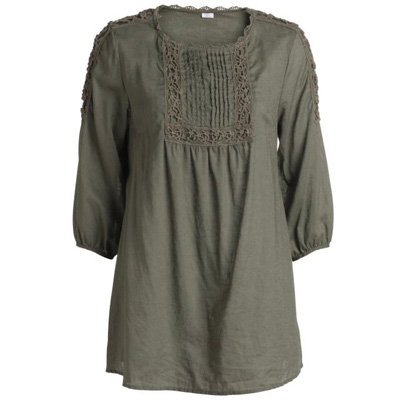 blouse-kaki-ellos