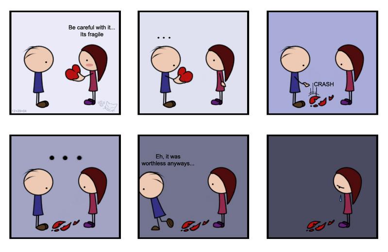 Happy Valentine's Day. I dump you.
