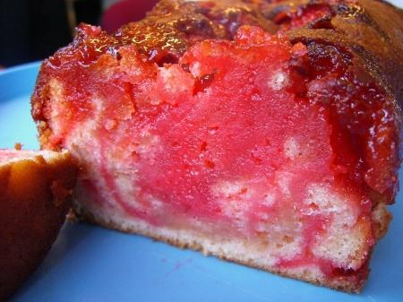 cake fraise tagada