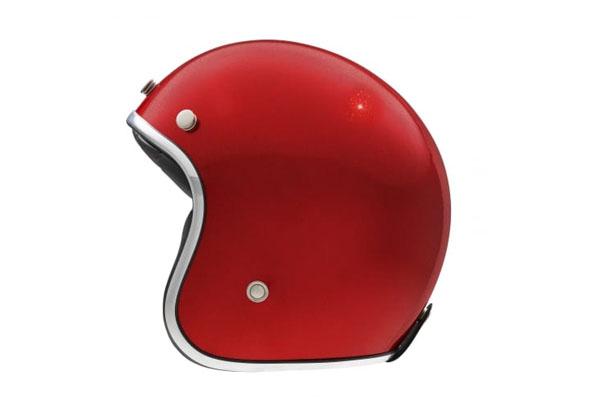 casque kokpit k 242 paillettes rouge