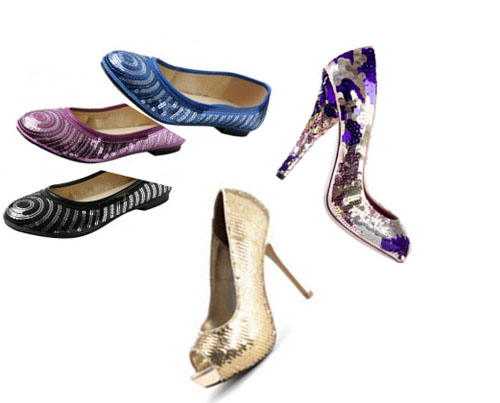 chaussures sequin