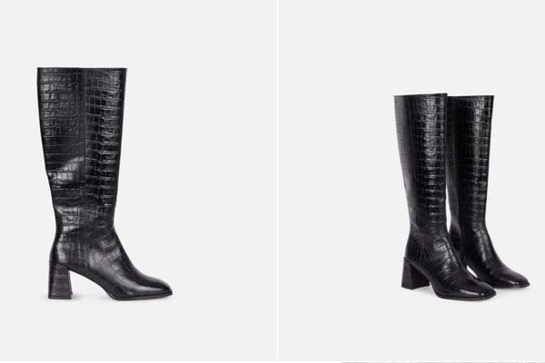 Chaussures veau Julirose noir