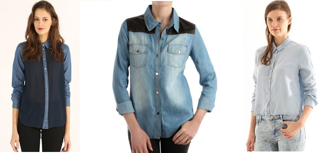 chemise-jean-bi-matiere-cropped