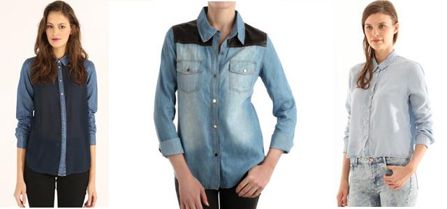 chemise-jean-bi-matiere-cropped