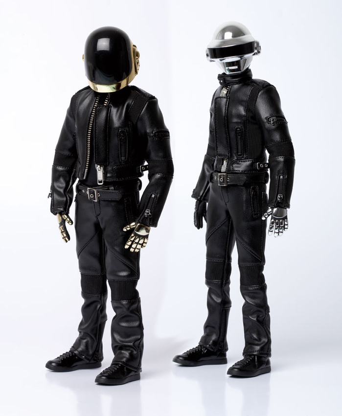 Portrait Daft Punk mode