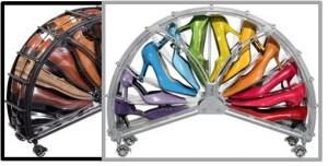 demi roue range chaussure