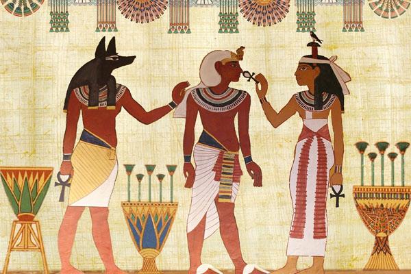 Egypte Antique pilosité
