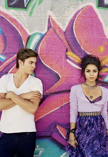 High School Musical couverture magazine
