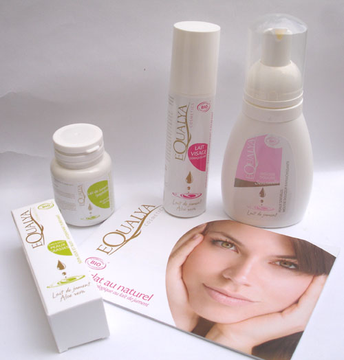 equalya cosmetiques lait jument