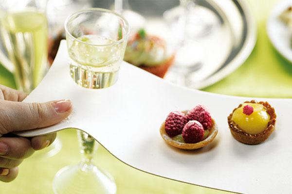 Flûtes à champagne jetable
