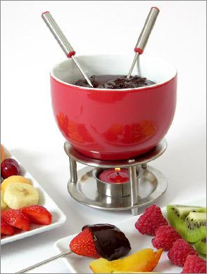 fondue de chocolat