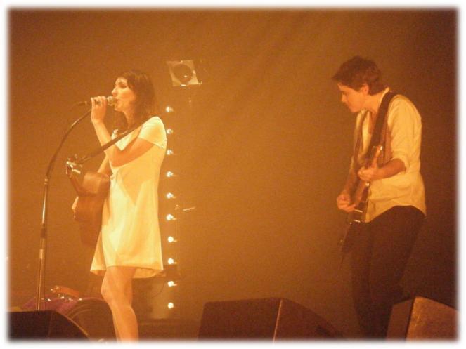 la grande sophie et guitariste