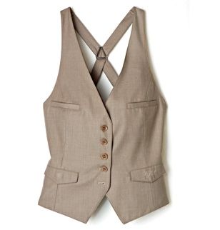 Gilet d'homme beige marque pepe jeans