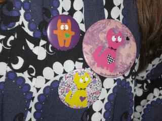 badges doudous de Valentine