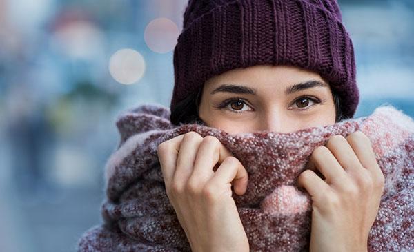 Grosse écharpe chaude pour femme