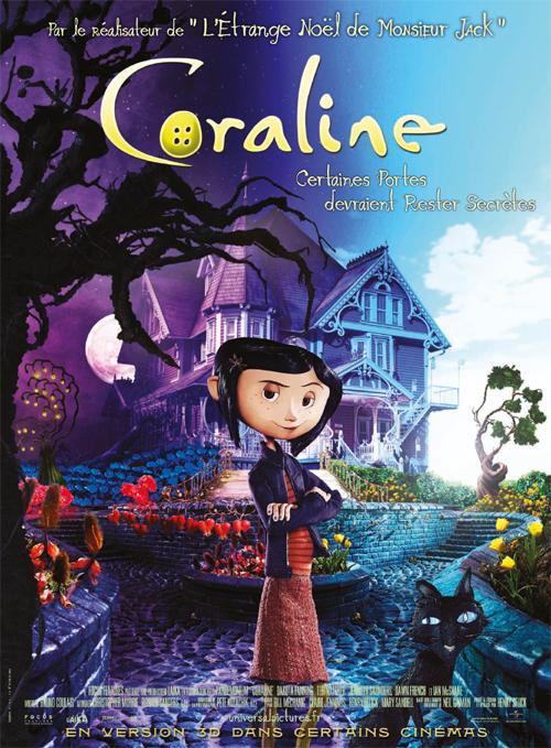Coraline affiche film