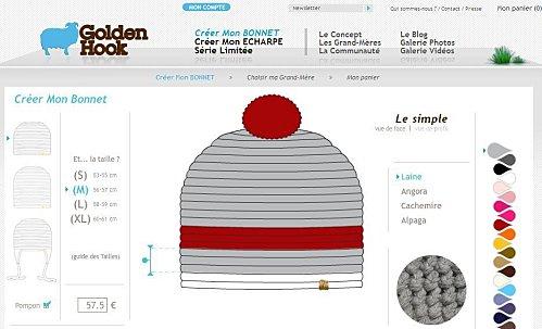 golden hook tricot mode