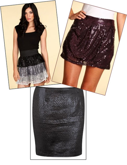 jupes sequin