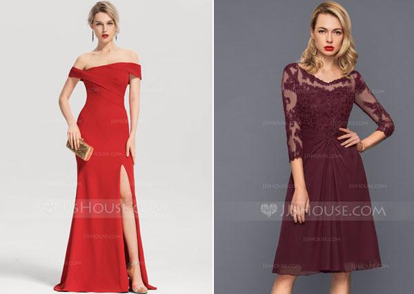 Longueur robe demoiselle d'honneur