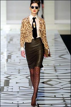 tenue léopard