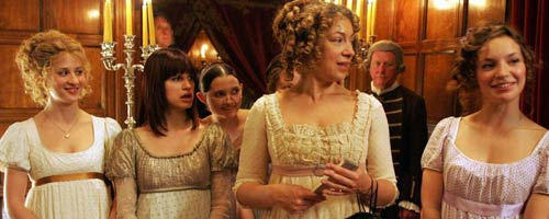 Lost in Austen série