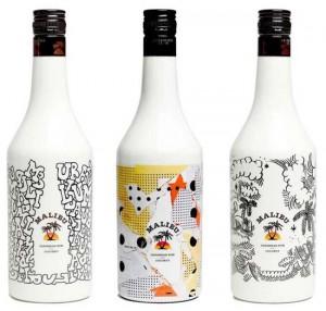 Malibu bottles