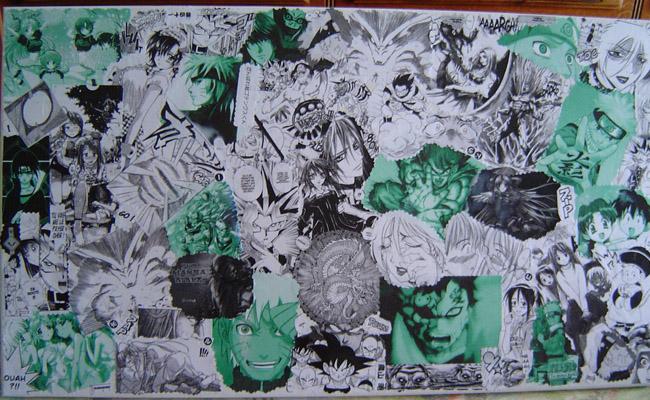 Toile de Manga