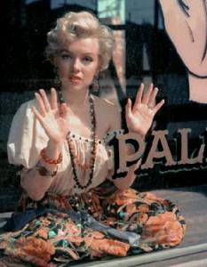 Marilyn Monroe photographiée par Milton Greene