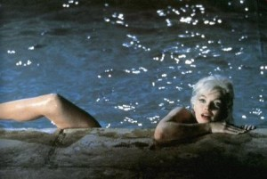 Marilyn Monroe, scène de la piscine Something Got To Give