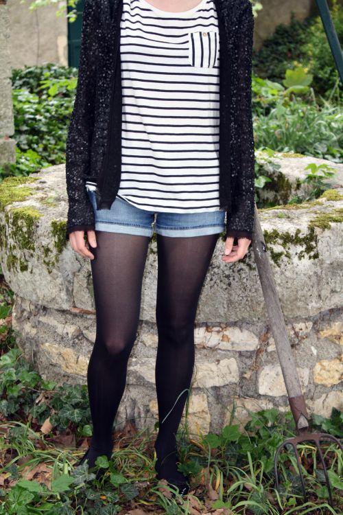 marinière-sequins-short